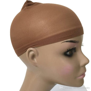 Stocking Wig Cap  - Brown - Elegance24seven Hair