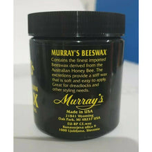 Load image into Gallery viewer, Murray's Black 100% Pure Beeswax WHITE 4oz - Elegance24seven Hair
