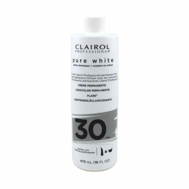 White 30 Volume Creme Developer Clairol 16 oz - Elegance24seven Hair