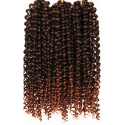 "Savannah Jerry Curl 3X 10"" - Elegance24seven Hair"