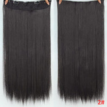 "Load image into Gallery viewer, 10A Grade Virgin Remy Clip In Human Hair (Straight 100G 22"") - Elegance24seven Hair"