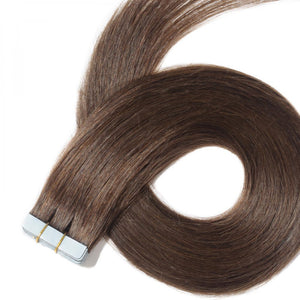 "10A Grade (Straight 100G 24"") Tape In Human Hair - Elegance24seven Hair"