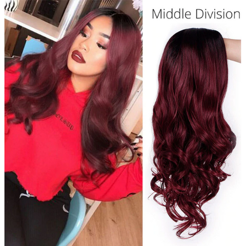 Wavy  High Density Temperature Wig WL9313