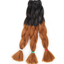 Load image into Gallery viewer, XPression Ultra Braid 165g (Ombre 2 & 3 Colors) - Elegance24seven Hair