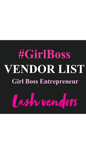 Lash & Makeup Vendors