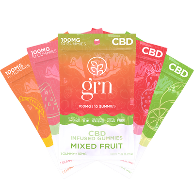 100mg CBD Gummies 5-Pack