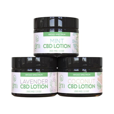 CBD Infused Lotion 3-Pack