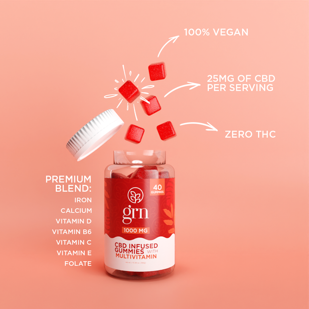 CBD Multi-Vitamin Gummies