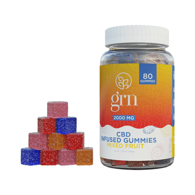 CBD Mixed Fruit Gummies