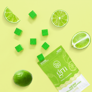 100mg Bags of Lime Flavored CBD Gummies