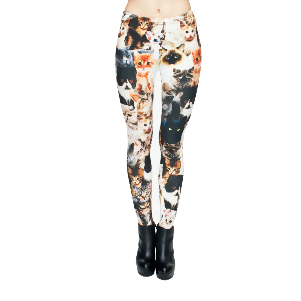 PURRRFECT CATS LEGGING
