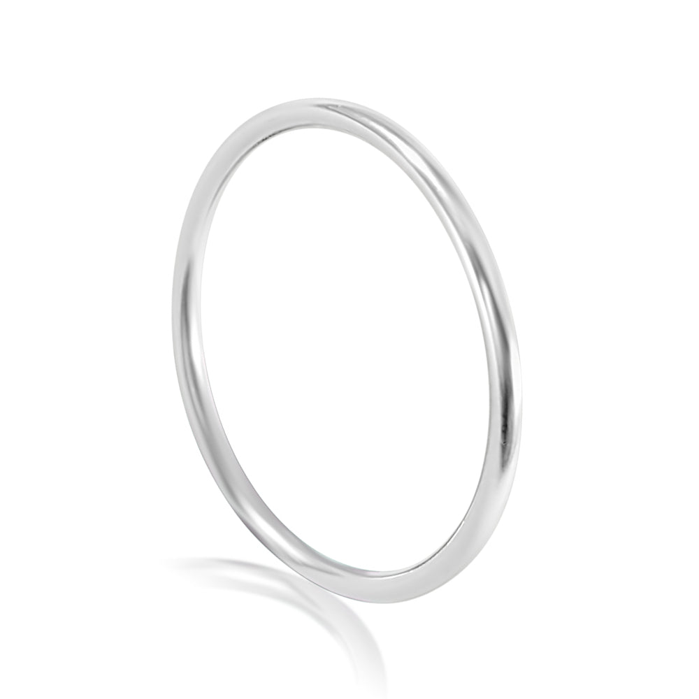 PLAIN JANE STERLING SILVER TOE RING