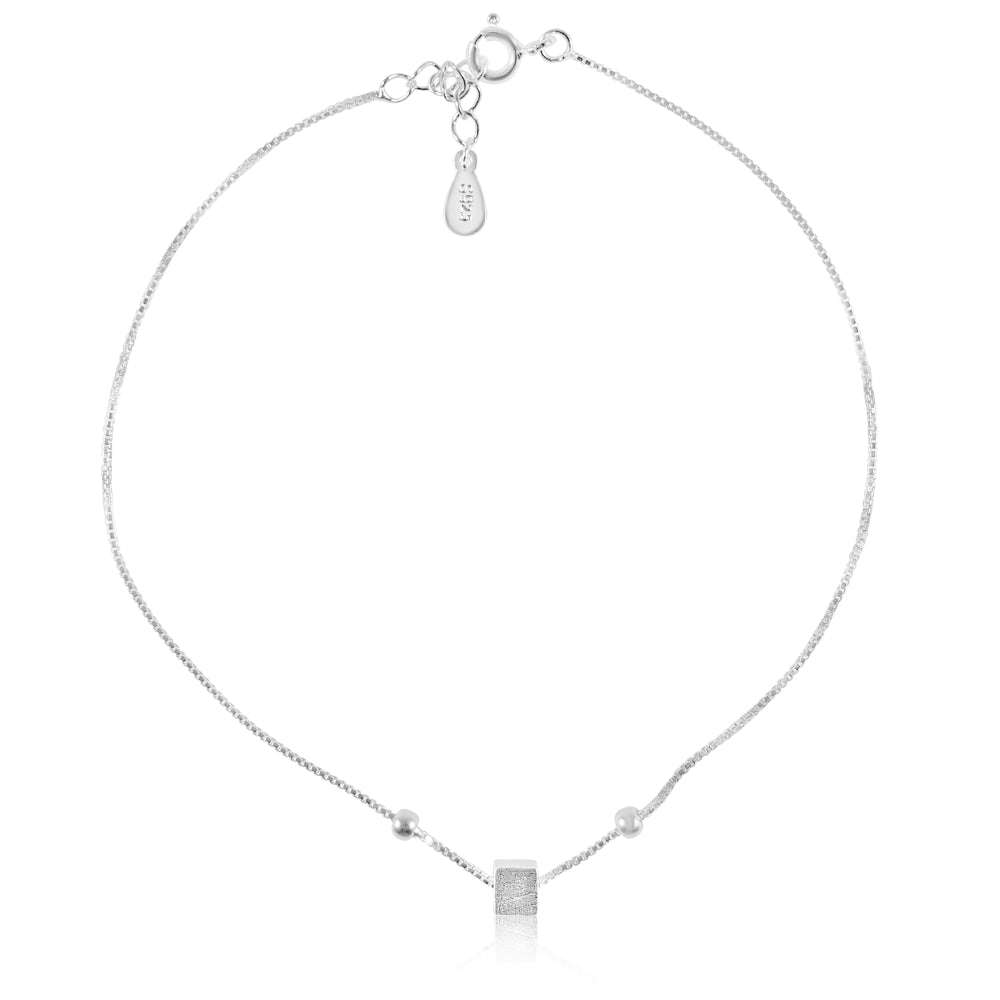 CUBIC RUBRIC ANKLET