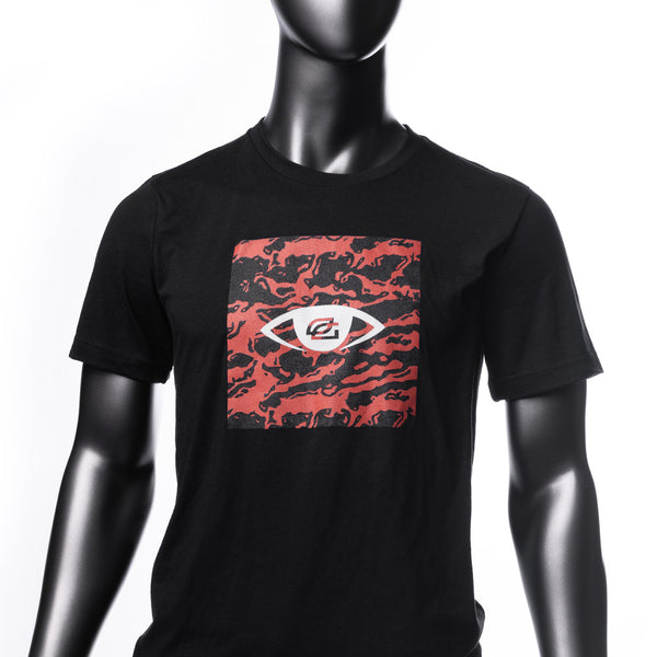 Vision Red Camo Tee