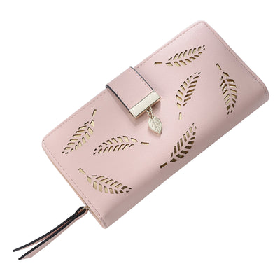 Women Wallet Leather Card Coin Holder Money Clip Long Phone Clutch Photo High Quality Photo Fashion Cash Pocket Female Purse
