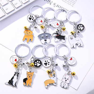Cute Dog Keychain Lovely Animal