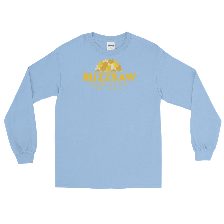 buzzsaw longsleeve—light blue