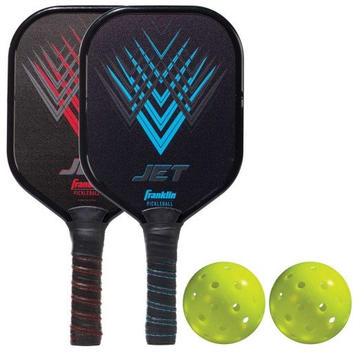 FRANKLIN PICKLEBALL - RECREATIONAL - 2 PLAYER ALUMINUM PADDLE & BALL SET