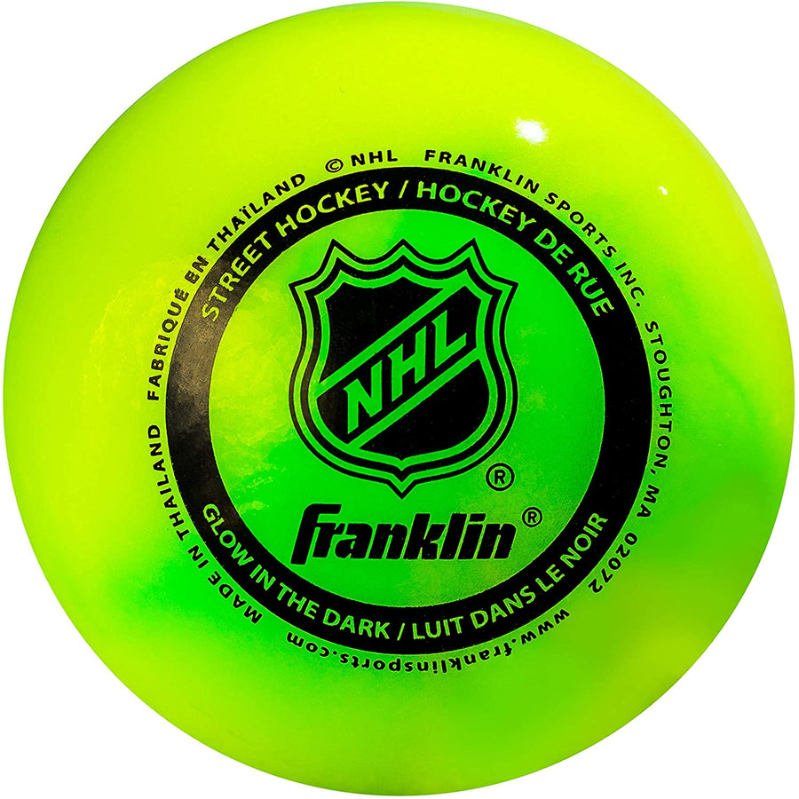 FRANKLIN NHL® STREET HOCKEY BALL  - GLOW IN THE DARK