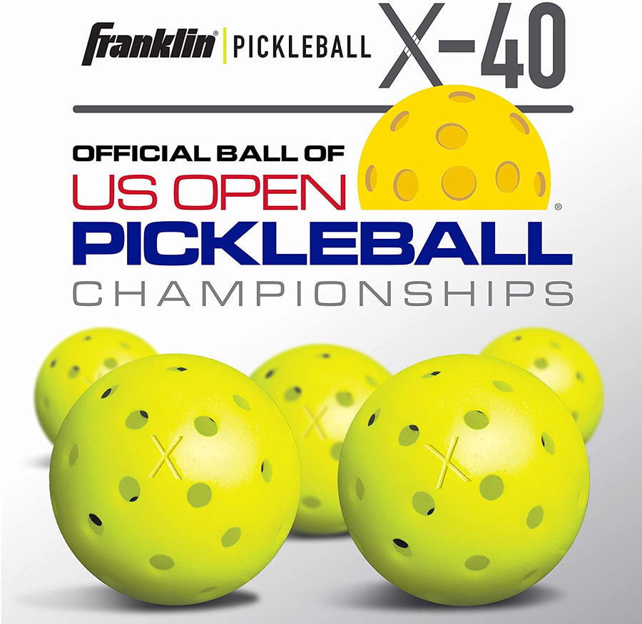 FRANKLIN X-40 PICKLEBALLS OUTDOOR  12-PACK