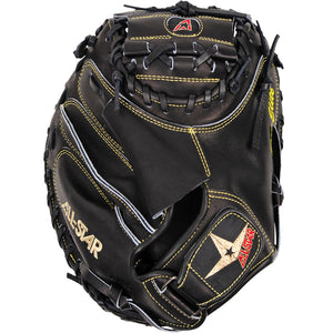 ALL-STAR SOLID BLACK PRO-ELITE® CATCHERS MITT