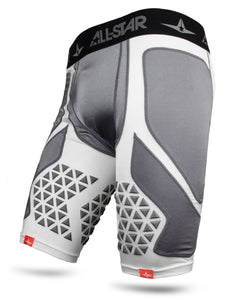 ALL-STAR ADULT PADDED CATCHING SHORTS