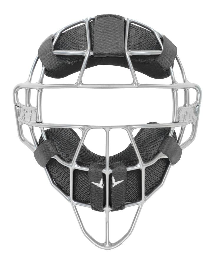 ALL-STAR S7 MAGNESIUM UMPIRE MASK,  W/LUC PADS
