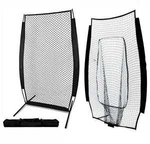 SIDELINES BASEBALL I-SCREEN PACKAGE WITH BOTH PRACTICE NETTING OPTIONS