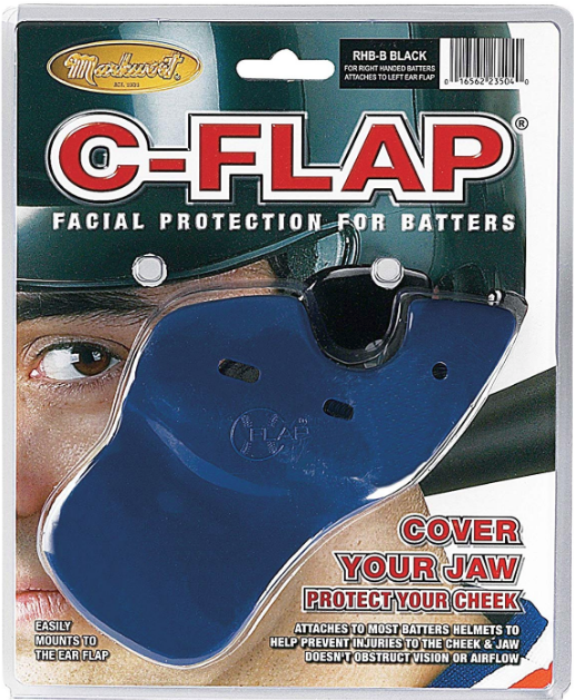 C-FLAP FOR RIGHT HANDED BATTERS BAGGED - Markwort