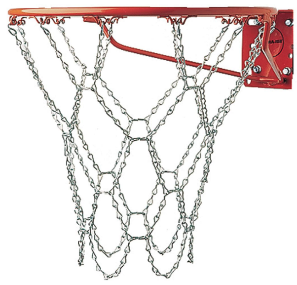 Sidelines Basketball Net Steel Mesh