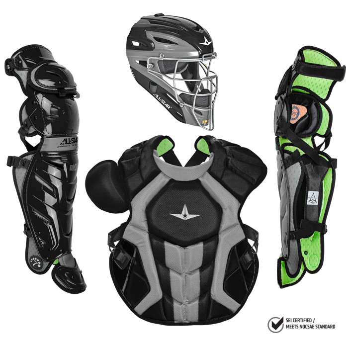 ALL-STAR S7 AXIS™ ADULT CATCHING KIT // MEETS NOCSAE