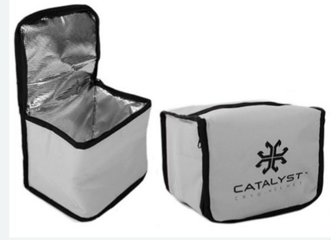 Catalyst insulated carry bag for Cryohelmet™