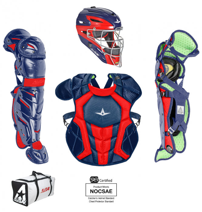 ALL-STAR  CKCC912S7X  YOUTH S7 AXIS™ TWO TONE CATCHER KIT - AGES 9-12, 14.5