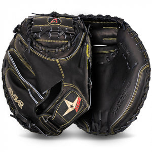 "ALL-STAR PRO-ELITE® 33.5"" CATCHERS MITT - BLACK"