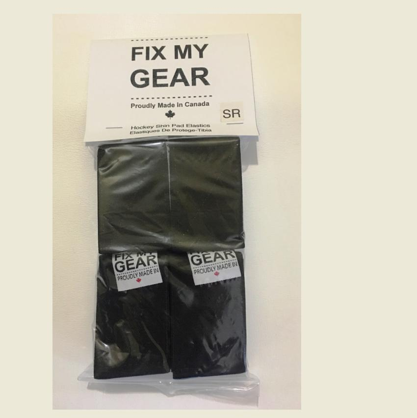FIX MY GEAR - SHIN GUARD ELASTICS - SENIOR - BLACK Canada