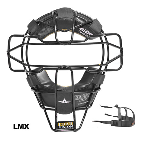 ALL-STAR UMPIRE TRADITIONAL MASK W/ LMX PADS