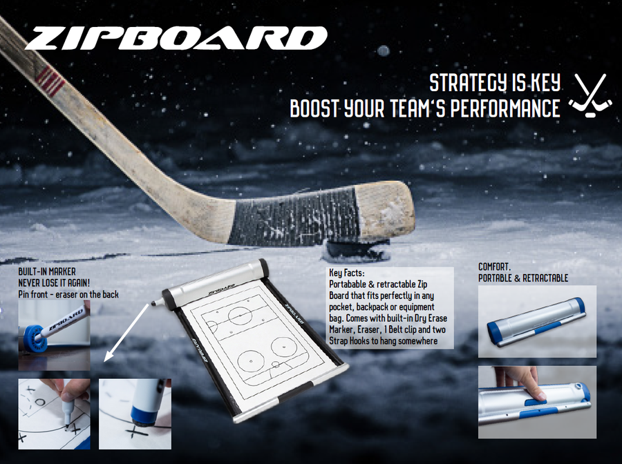 Zip Board - Hockey