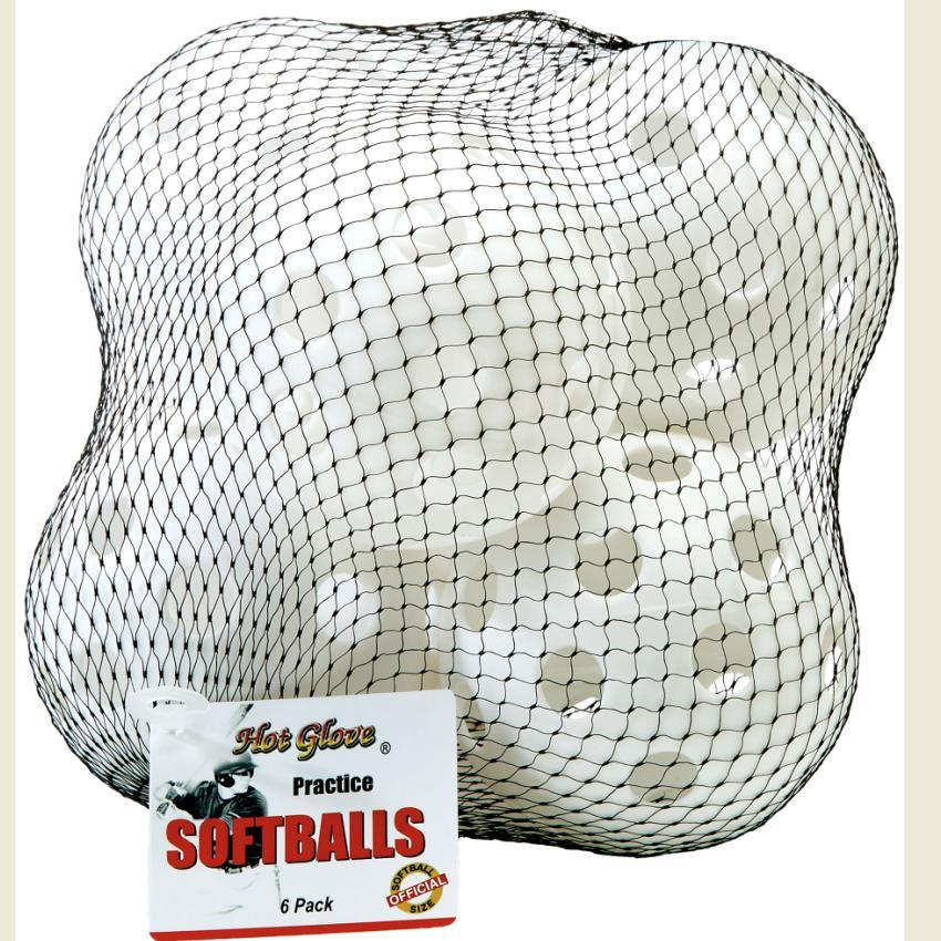 HOT GLOVE PRACTICE SOFTBALL - 6/PK MESH BAG Canada