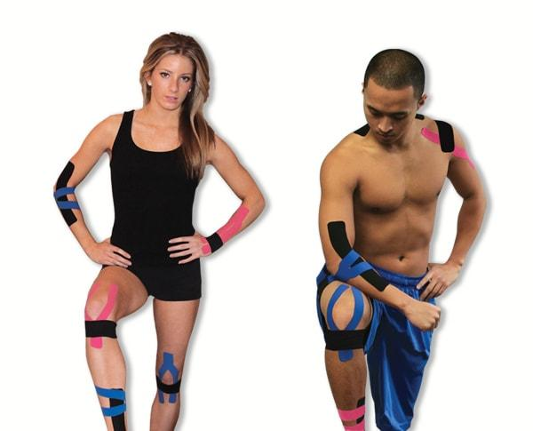 Pro-Tec Kinesiology Tape - Double Rolls