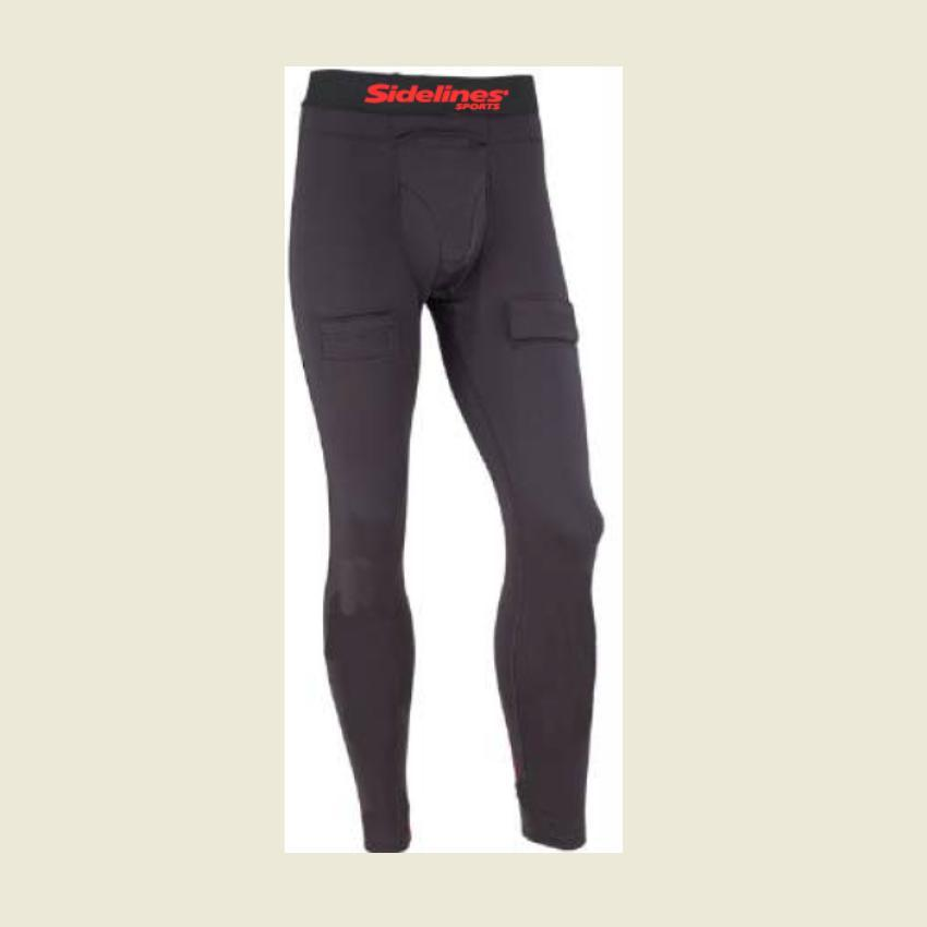 SIDELINES HOCKEY COMPRESSION PANT W/CUP -MENS XLARGE Canada
