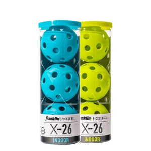 FRANKLIN X-26 INDOOR PICKLEBALLS 3 PACK