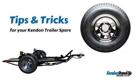A Spare Change: Tips and techniques for your Kendon Trailer spare tire