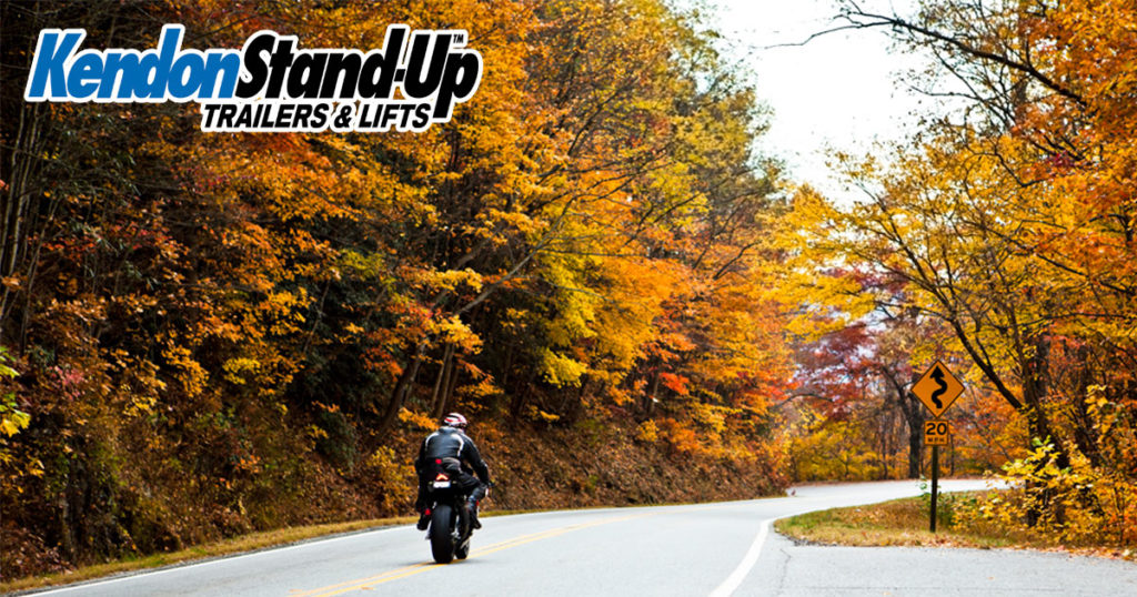5 Great Motorcycle Rides to Take this Fall