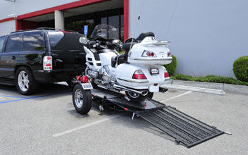 Ride On Motorcycle Trailer – Kendon Single Ride-Up SRL in Cycle World Magazine