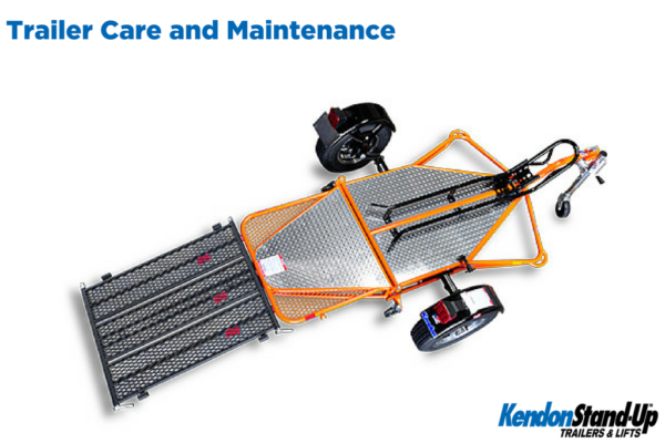 Care and Maintenance of Your Kendon Stand-Up™ Trailer
