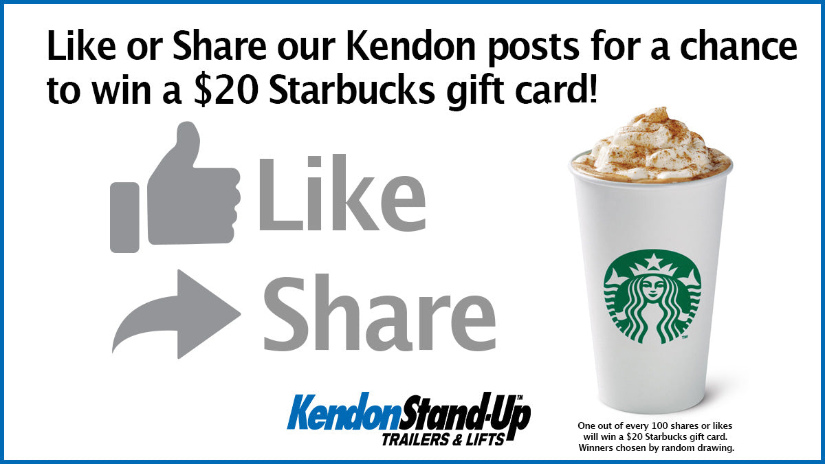 Share, Win, Ride with Kendon Social Media