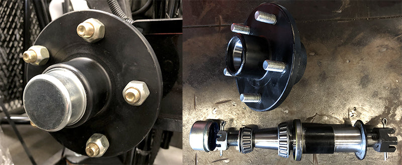 Kendon Go! Series Trailer Hubs