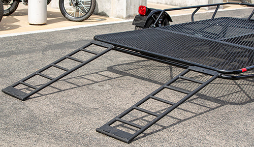 Multi-Purpose Trailer with Flat Deck