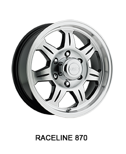 Aluminum Trailer Wheel Raceline 870