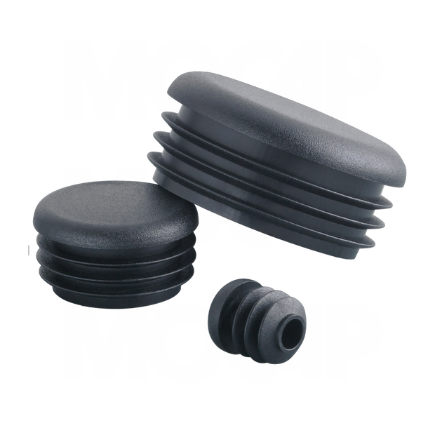 Replacement Round Plastic End Caps for Kendon Trailers
